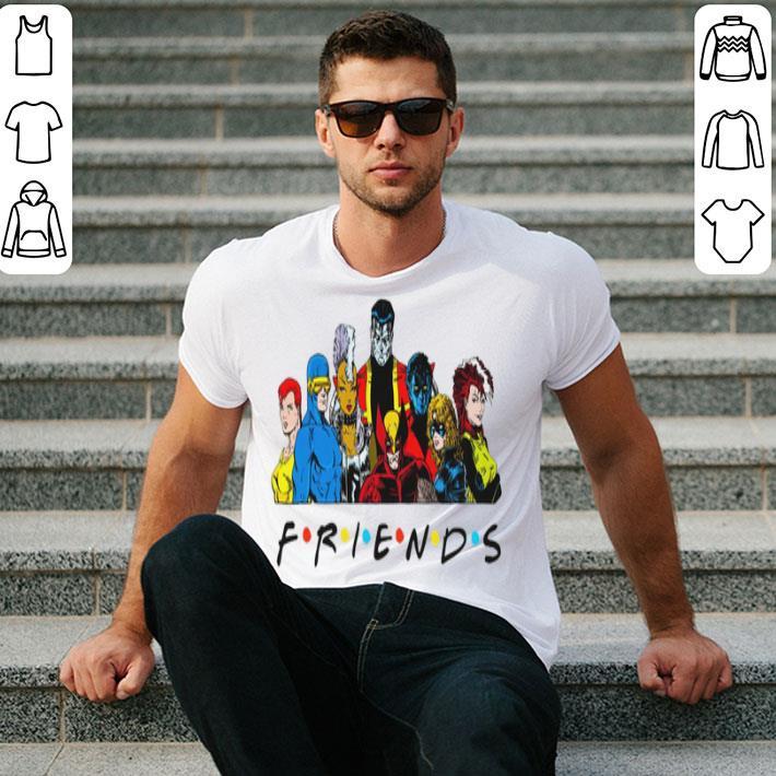 Friends Super Heroes Marvel shirt