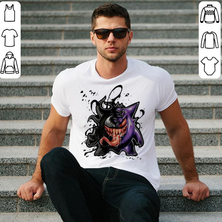 Gengar Venom Pokemon shirt