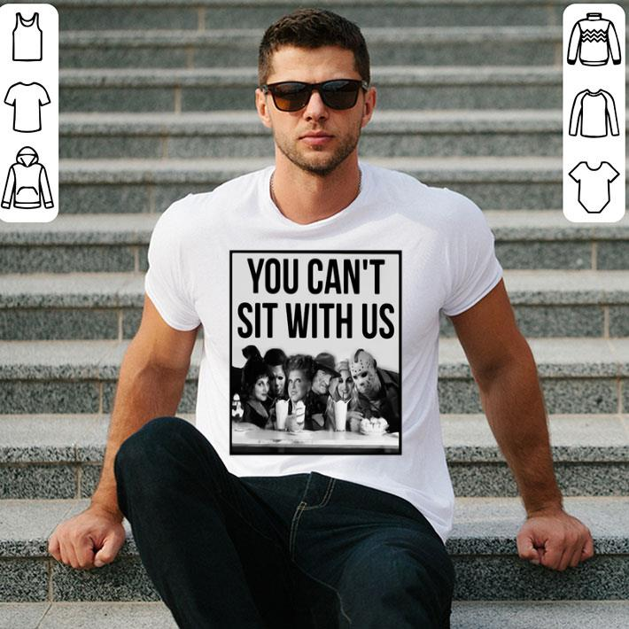 Horror Movie you can't sit with us Hocus Pocus Halloween shirt