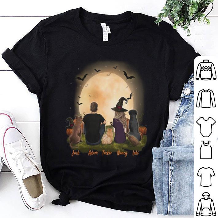 Jack Adam Tucker Nancy Loki Halloween shirt