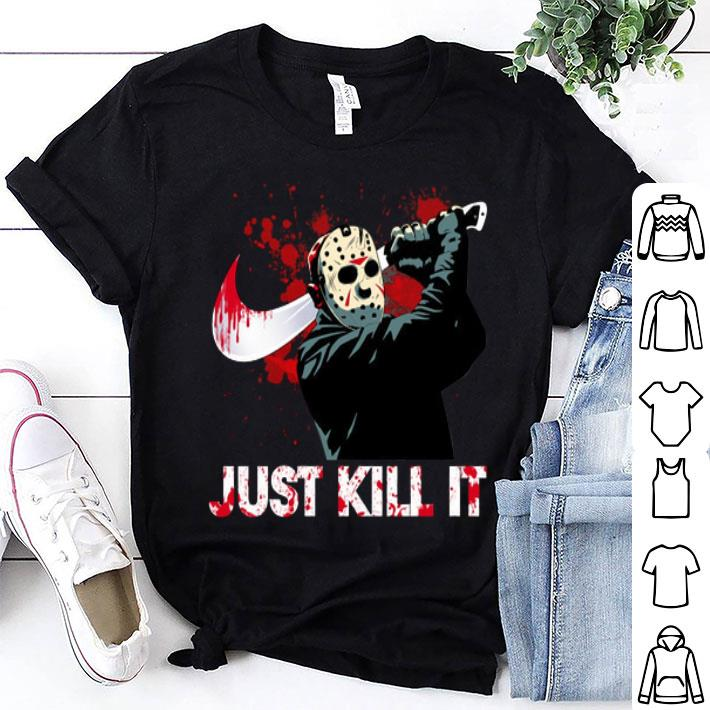 Jason Voorhees Nike just kill it shirt
