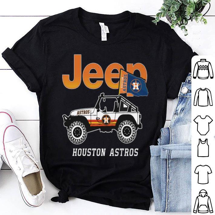 Jeep Houston Astros flag shirt