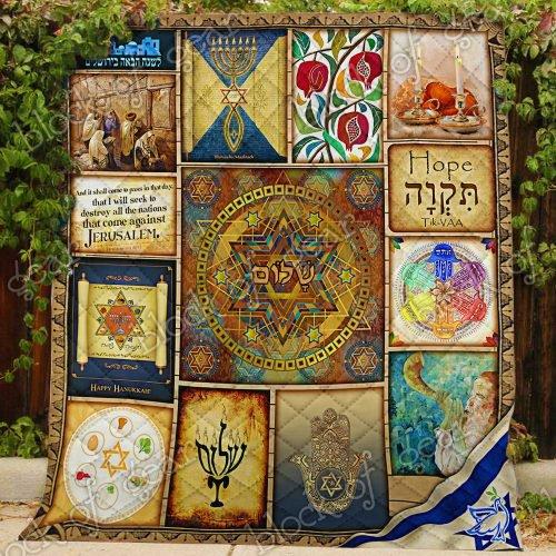 Jewish Quilt PN116 blanket 1