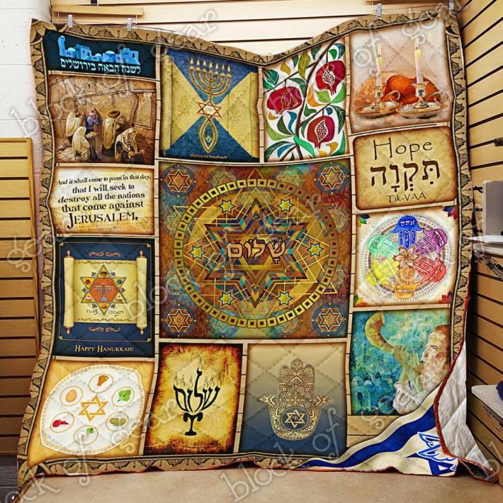 Jewish Quilt PN116 blanket