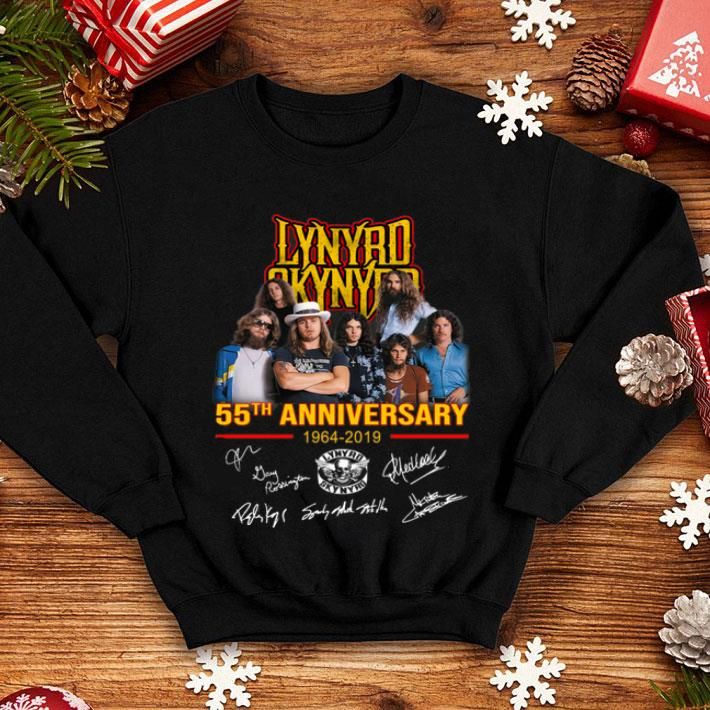 Lynyrd Skynyrd 55th anniversary 1964-2019 signatures shirt