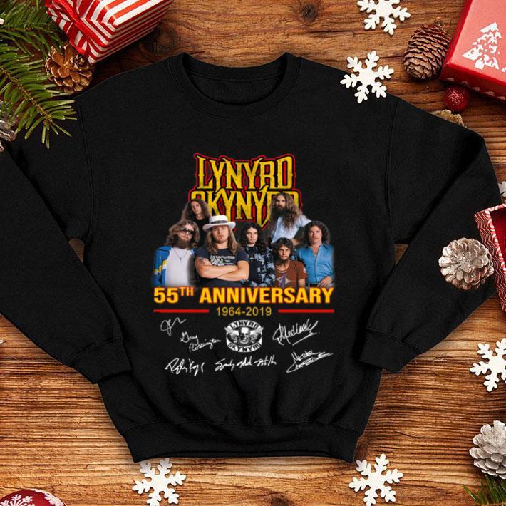 Lynyrd Skynyrd 55th anniversary 1964-2019 signatures shirt