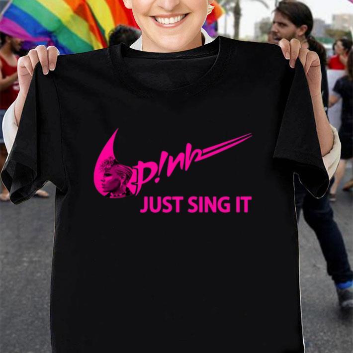 Nike Pink just sing it shirt