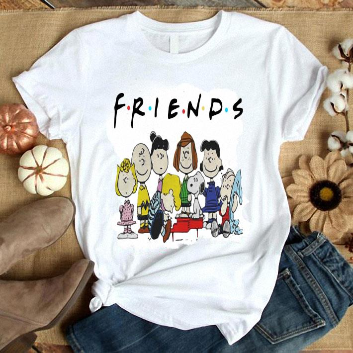 Peanuts Characters Friends shirt