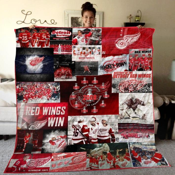 Red Wings Quilt blanket