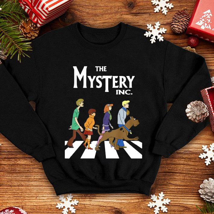 Scooby Doo The Mysterry Inc Abbey Road shirt