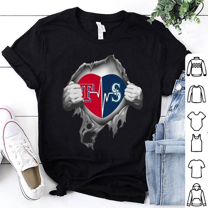 Texas Rangers Blood Inside Me Seattle Mariners shirt