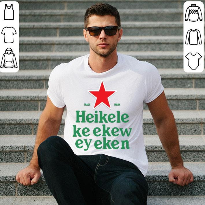Trade Mark Heikelekeekeweyeken Sublimation Dryfit shirt