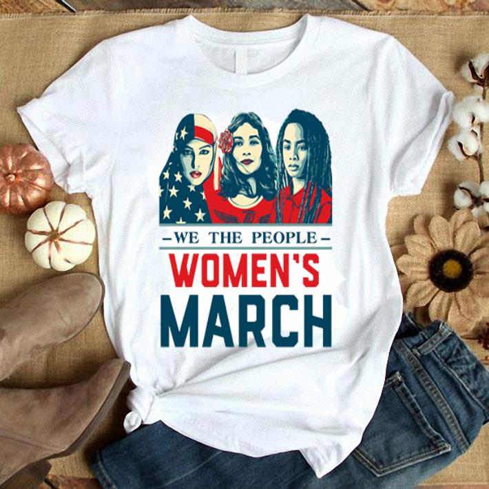 We the people women's march shirt