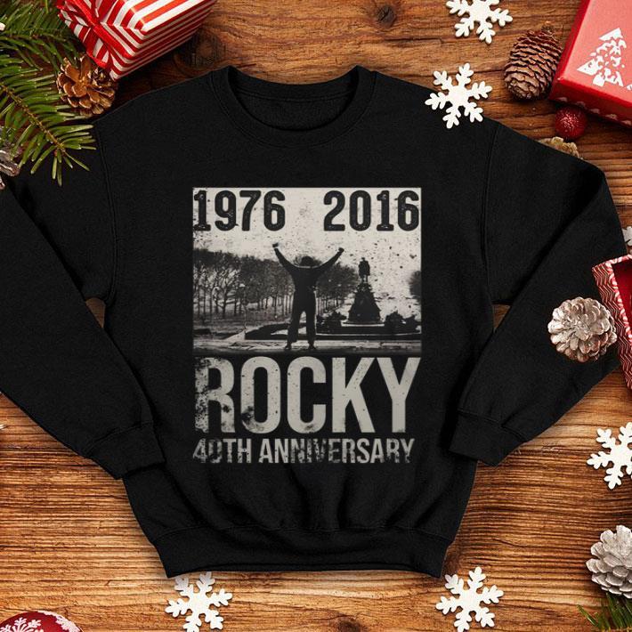 1976 2016 Rocky 40th Anniversary shirt