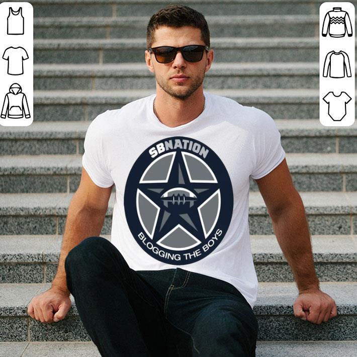 Dallas Cowboys SB Nation Blogging The Boys shirt