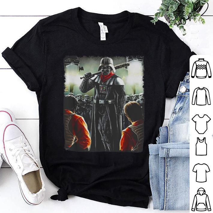 Darth Vader Negan Star Wars The Walking Dead shirt