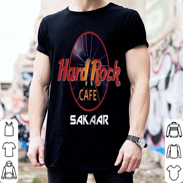 Hard Rock Cafe Sakaar shirt