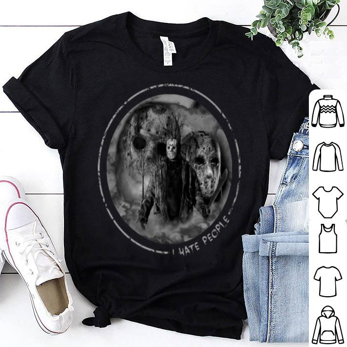 Jason Voorhees i hate people shirt