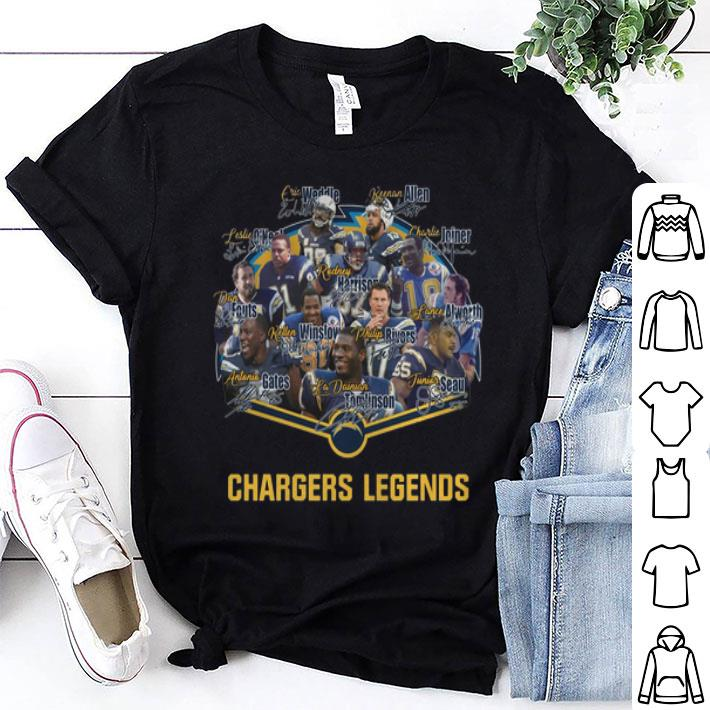 Los Angeles Chargers Legends Signatures shirt