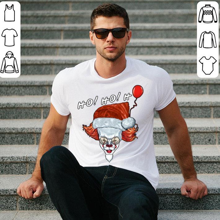 Pennywise IT Ho Ho Ho Santa Claus shirt