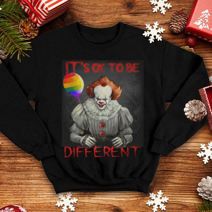 Pennywise it's ok to be different shirt