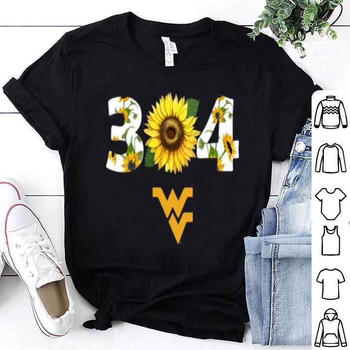 Sunflower 304 West Virginia Mountaineers shirt