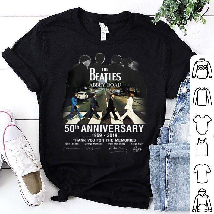 The Beatles Abbey Road 50th Anniversary 1969-2019 Signatures shirt
