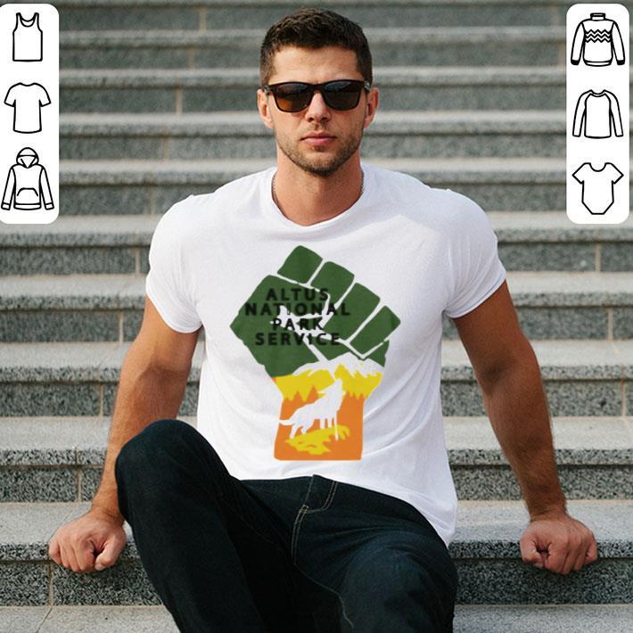 Altus National Park Service shirt