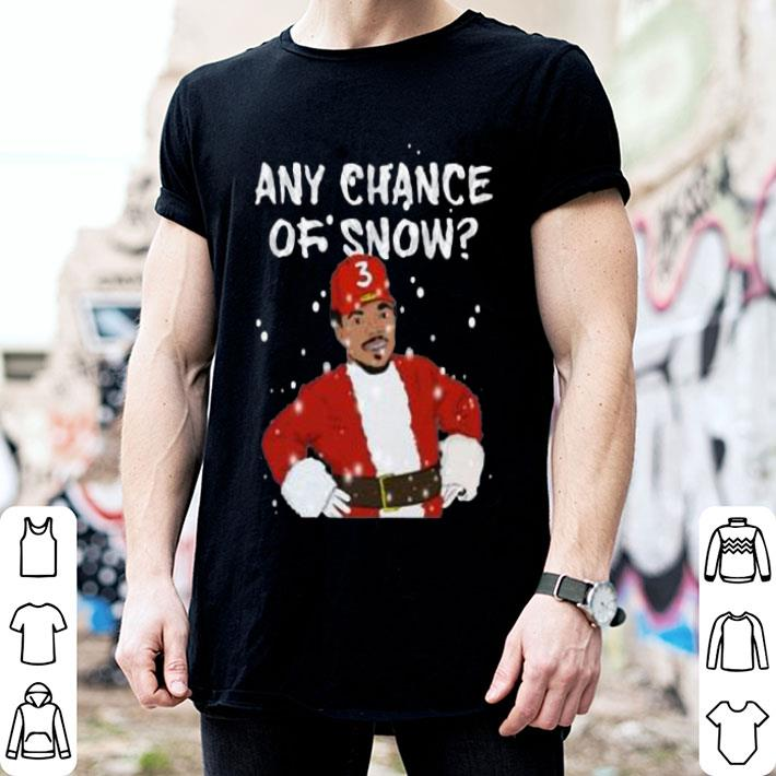 Any Chance Of Snow The Rapper Christmas shirt