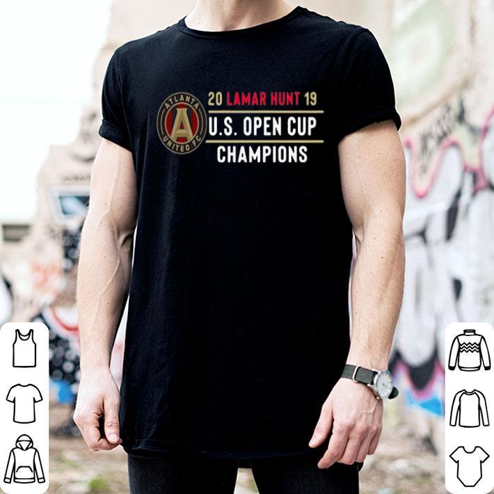 Atlanta United FC 20 Lamar Hunt 19 US Open Cup Champions shirt