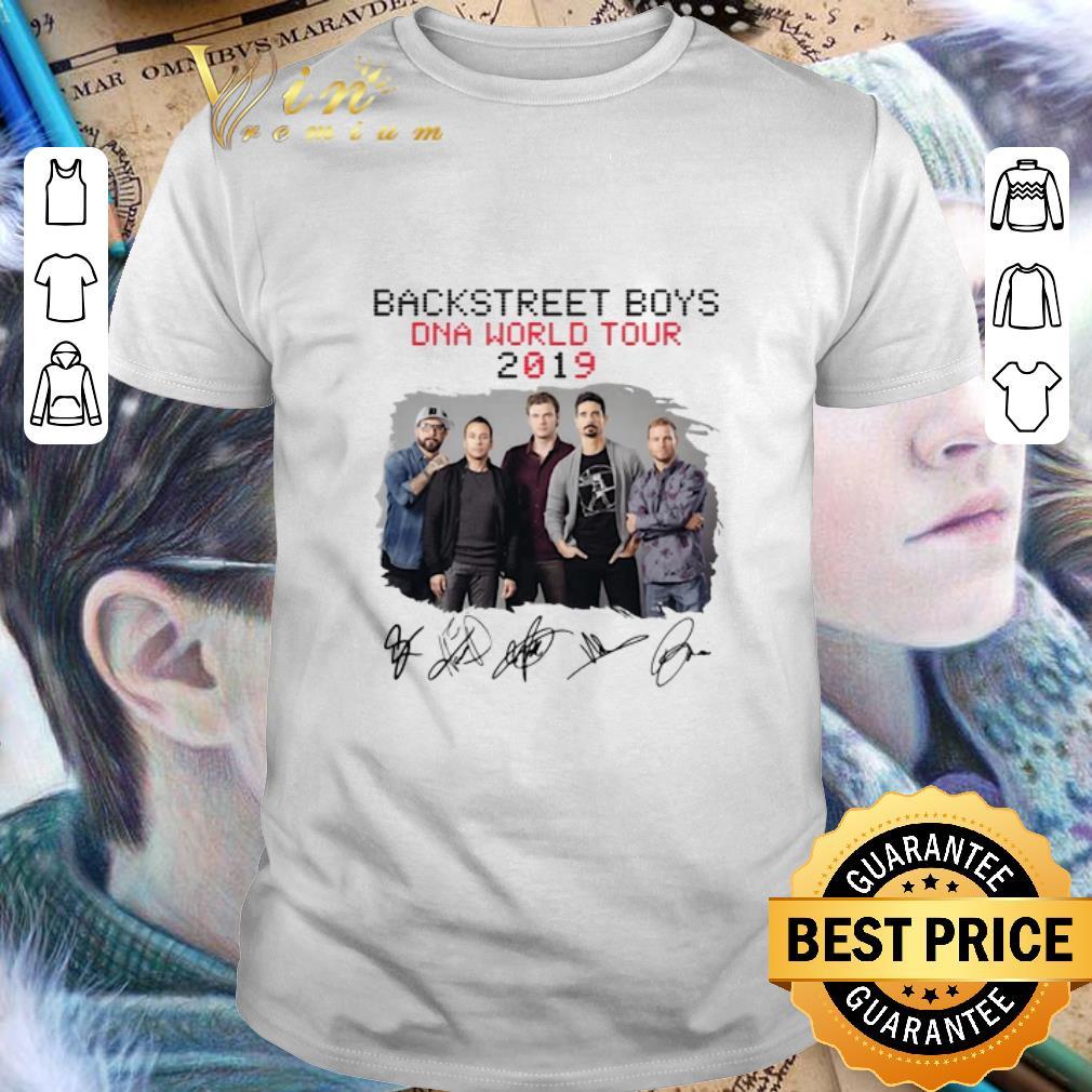 Awesome Backstreet Boys Dna World Tour 2019 Signatures shirt