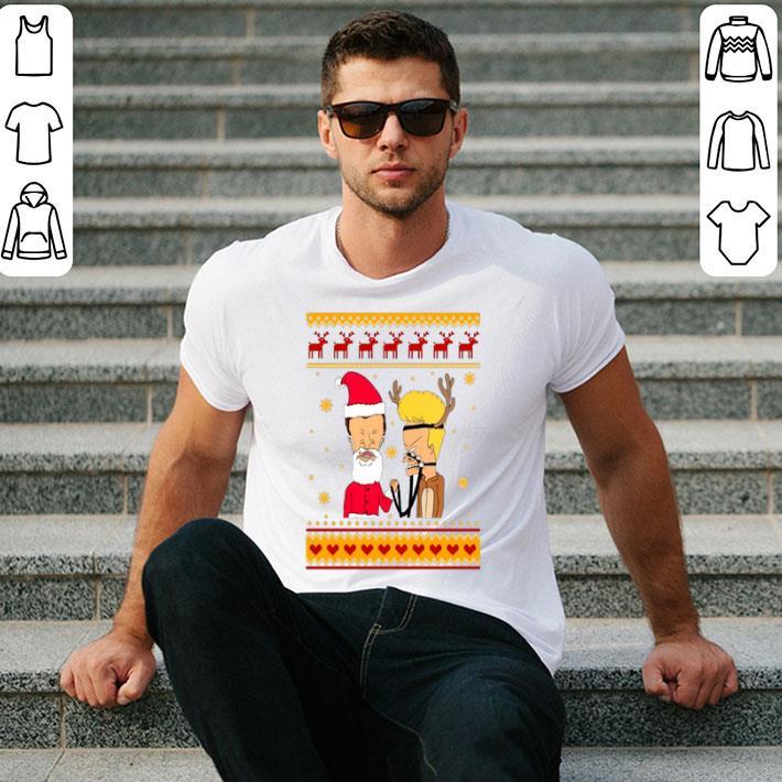 Beavis and Butthead ugly Christmas shirt