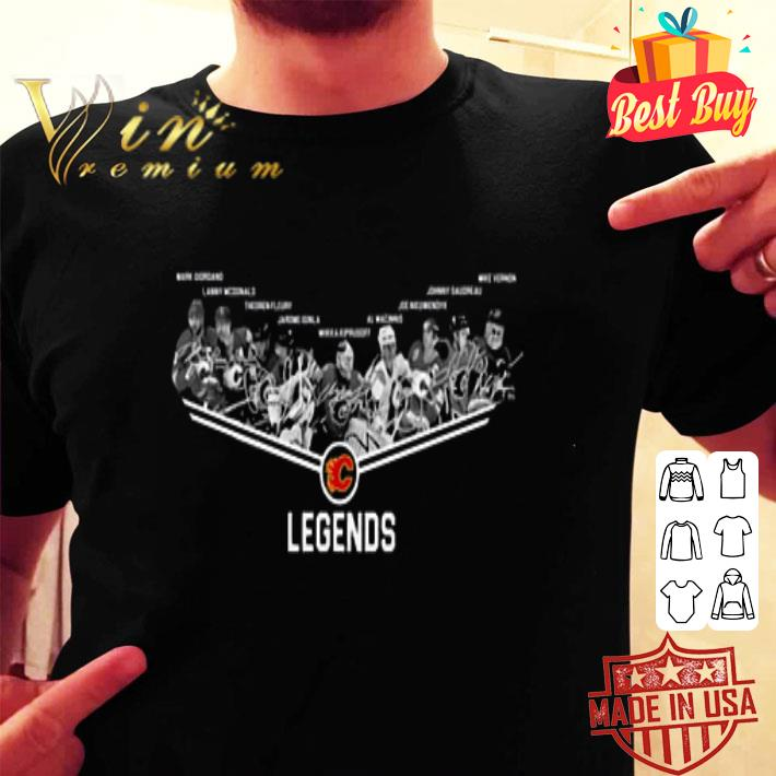 Calgary Flames Legends Players shirt