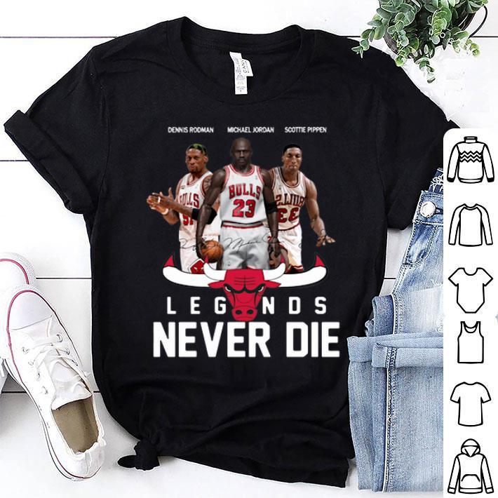 Chicago Bulls Players Legends Never Die Dennis Rodman shirt