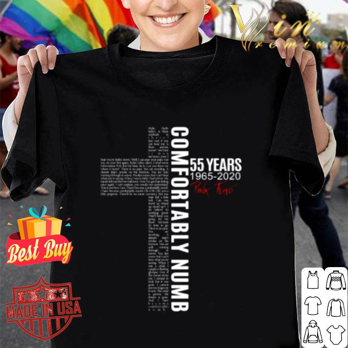 Comfortably Numb 55 Years 1965-2020 Pink Floyd shirt