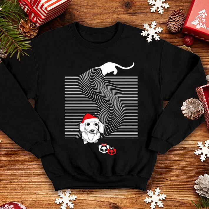 Dachshund Joy Division Christmas shirt