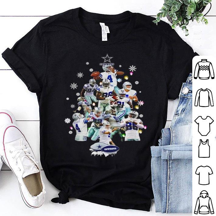 Dallas Cowboy Christmas Trees shirt