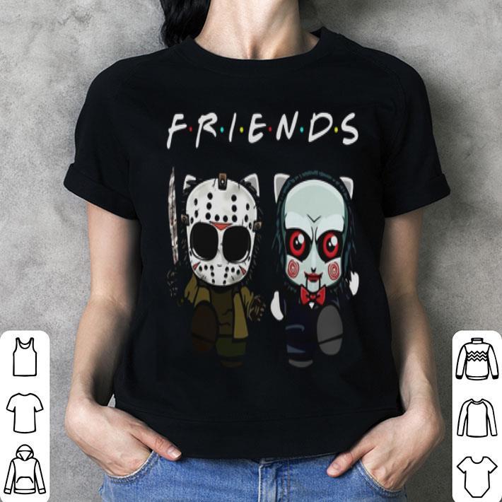 Friends Baby Jason Voorhees And Jigsaw shirt
