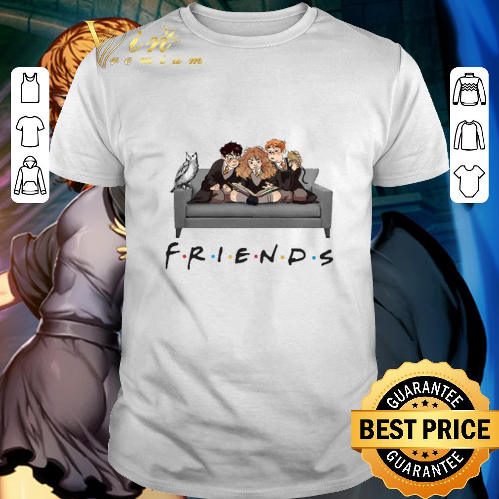 Friends Characters Harry Potter Ron Hermione shirt 1