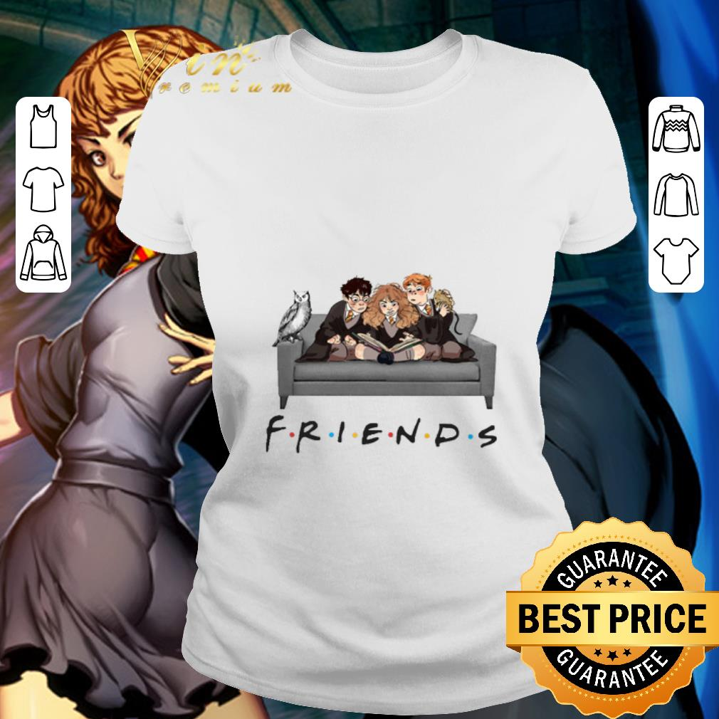Friends Characters Harry Potter Ron Hermione shirt 2
