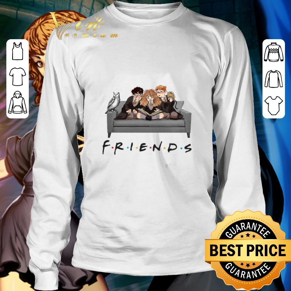Friends Characters Harry Potter Ron Hermione shirt