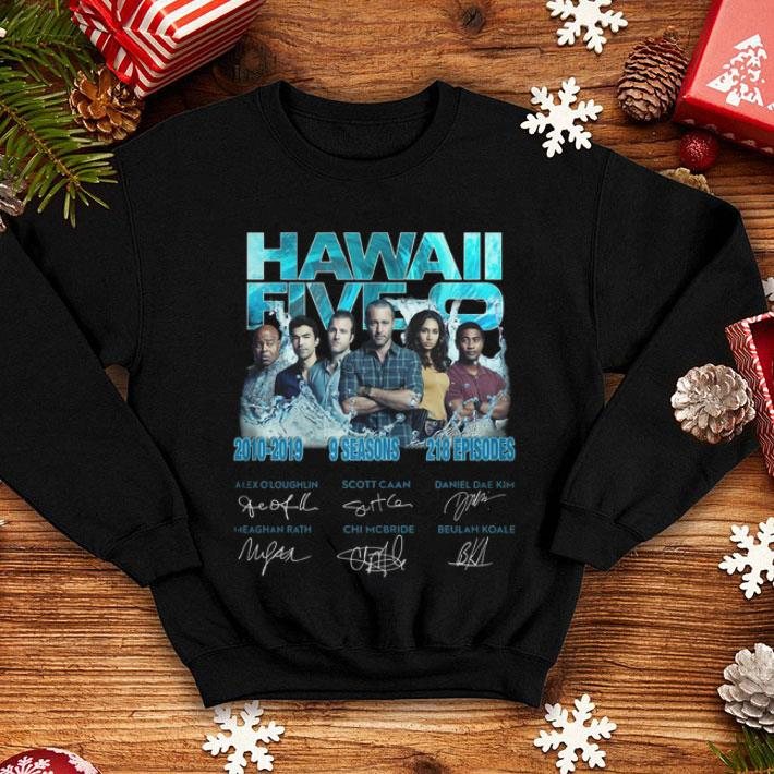 Hawaii Five-0 2010-2019 9 Seasons 218 Episodes Signatures shirt