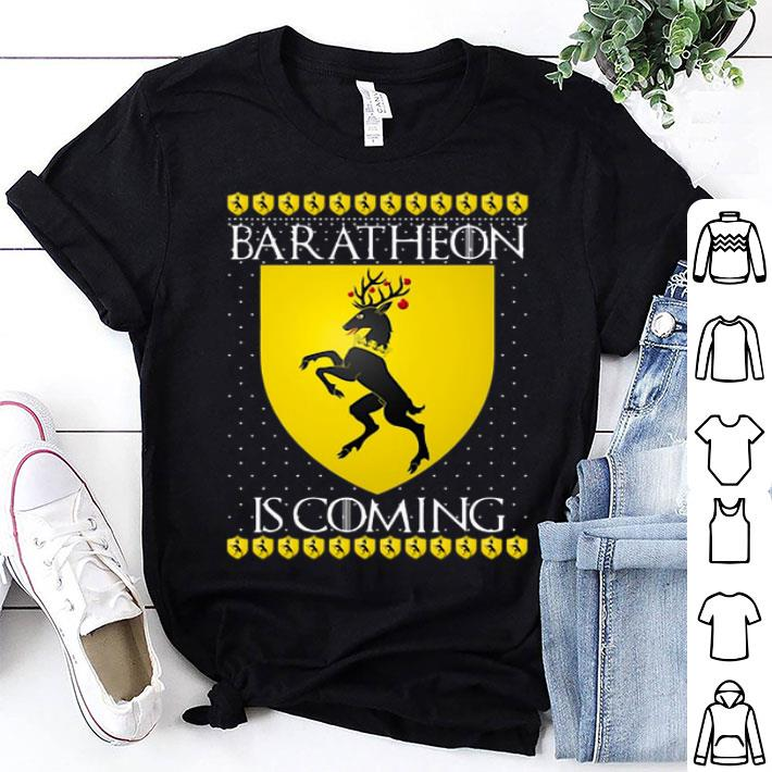 House Baratheon Is Coming GOT Christmas shirt