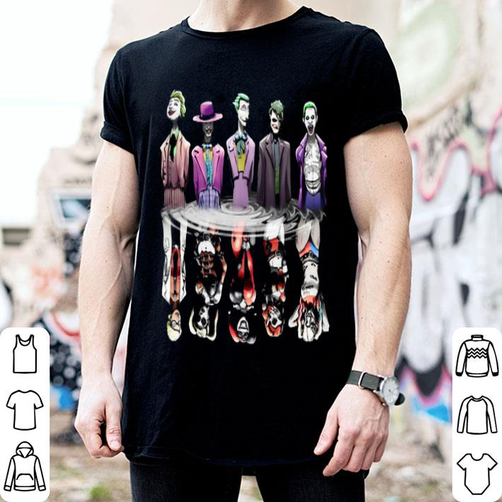 Joker reflection mirror water Harley Quinn shirt