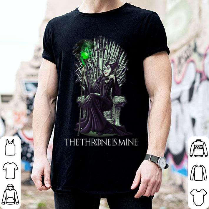 Maleficent The Throne Is Mine Shirt Hoodie Sweater Longsleeve T Shirt
