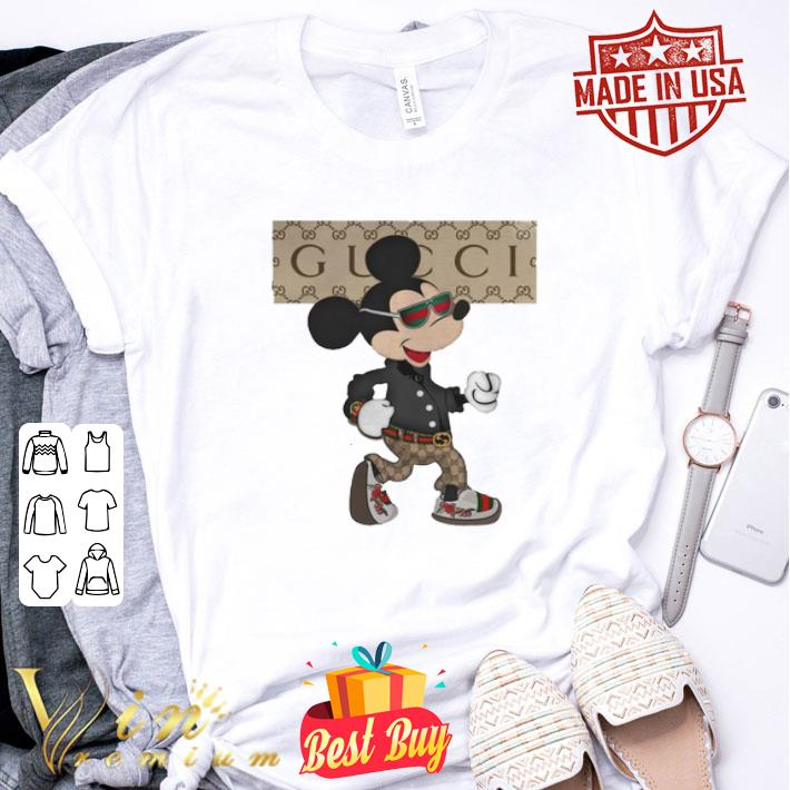Mickey mouse Gucci shirt