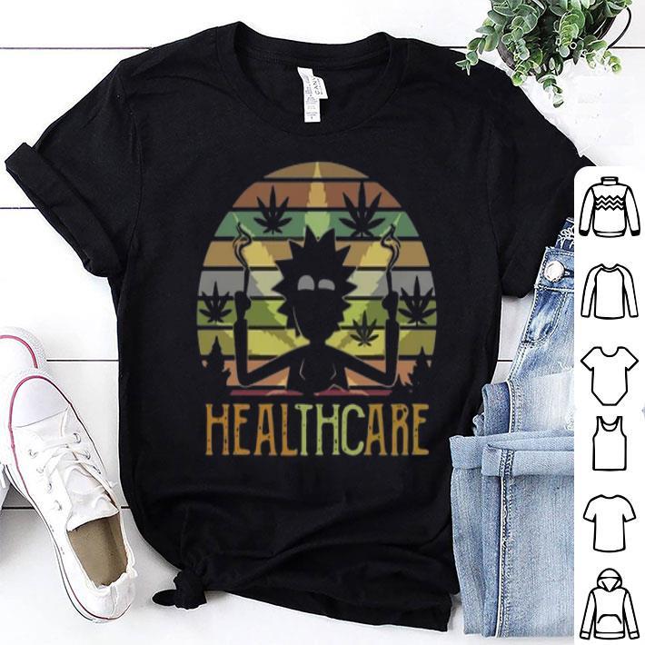 Rick and Morty Healthcare Vintage shirt