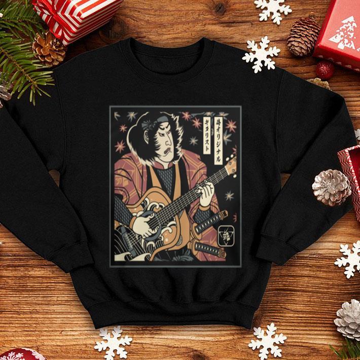 Samurai Hanya bassist guitar shirt