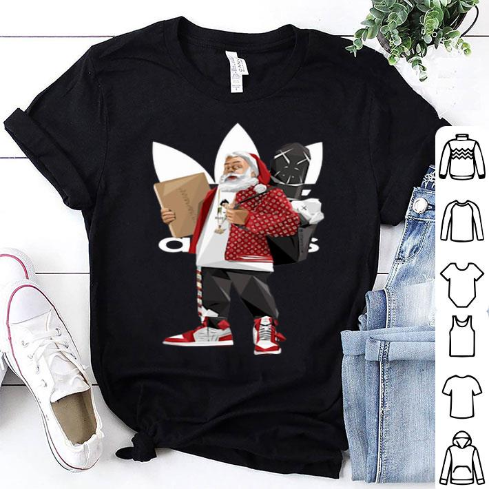 Santa Claus Adidas Supreme shirt