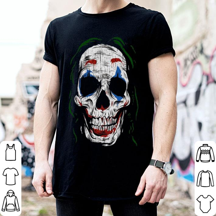 Skull Joker Joaquin Phoenix shirt